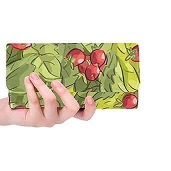 Amazon.com: Monedero de tres pliegues para mujer con diseño ...