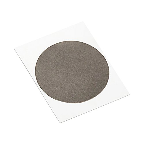 3M AB5050 CIRCLE-3.000''-100 Black Acrylic Adhesive EMI Absorber, 3.000'' Diameter Circles (Pack of 100) by TapeCase