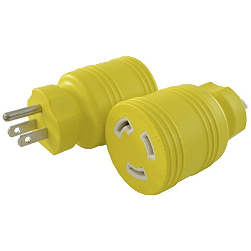 Conntek 30222-YW 15A to L5-30R Plug Adapter ()