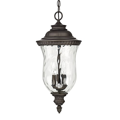 Capital Lighting 9786OB Three Hanging Lantern - Capital Lighting Traditional Lantern