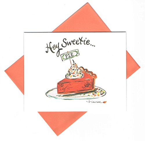 Timree Blank Note Cards and Envelopes ~ Autumn Memories (Hey Sweetie… Pie; 6 Cards; 4.25