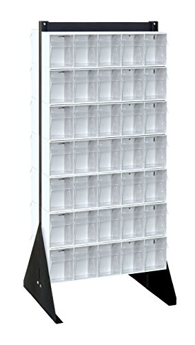 Quantum Storage Systems QFS248-305WT Clear Tip Out Bin Fl...