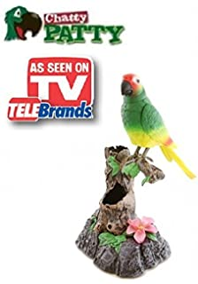 Amazoncom Polly The X Rated Insulting Parrot Motion Activated