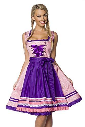 Heels-Perfect Women's Clogs Pink/Purple wDp1av0