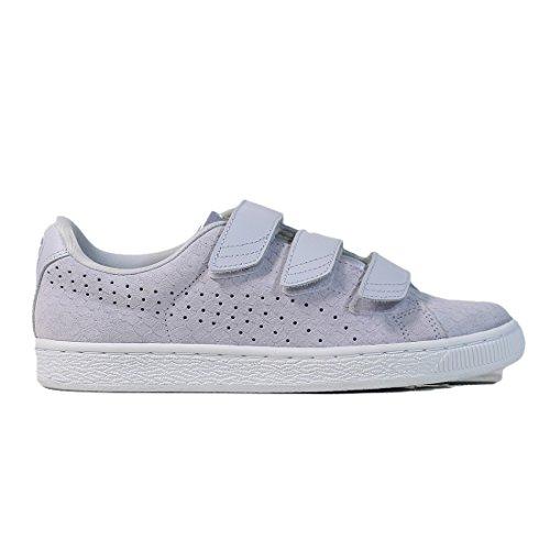 Sneakers Da Basket Con Puma Da Donna Alogene Blu
