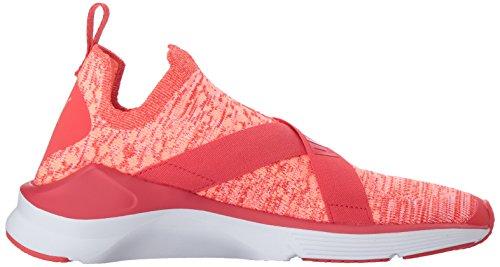 Puma Womens Ferne Evoknit Wn Sneaker Poppy Red-puma White