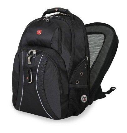 59c80624a78 Amazon.com: SwissGear ScanSmart Laptop Backpack - Black: Computers ...