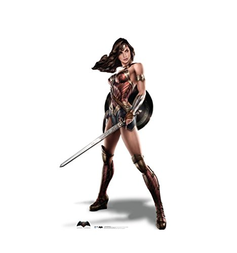 Wonder Woman - Batman V Superman: Dawn of Justice (2016) - Advanced Graphics Life Size Cardboard Standup