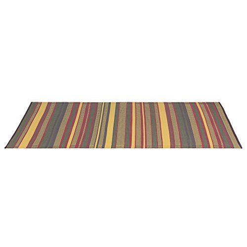 eLuxurySupply Outdoor Rug - Mad Mats | UV Fade Resistant | Waterproof Woven Outdoor Mat | 100% Recycled & Reversible Polypropylene Plastic Wicker| Non-Slip | Beach Deck & Doormat | -