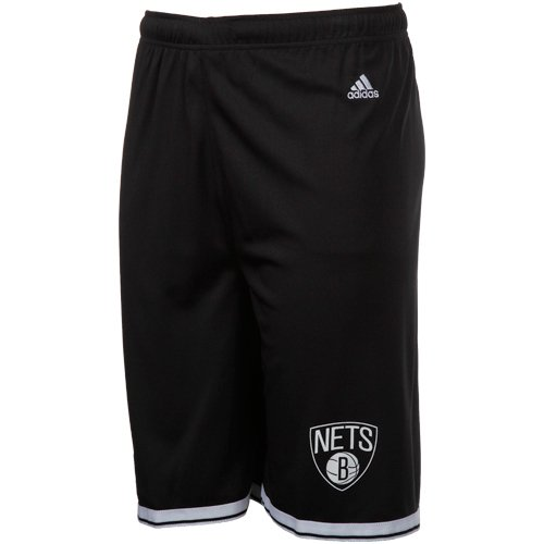 Adidas Brooklyn Nets Youth NBA Replica Shorts (Youth Large)