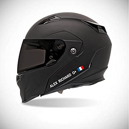 Pegatina autoadhesiva para casco de moto, adhesivo con identidad ...