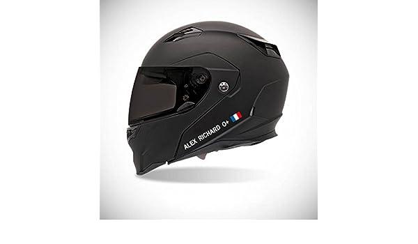 Pegatina autoadhesiva para casco de moto, adhesivo con identidad de colores: Amazon.es: Coche y moto