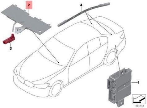 GTV INVESTMENT G30 G31 G32 G38 Optischer Leiter 63316824295