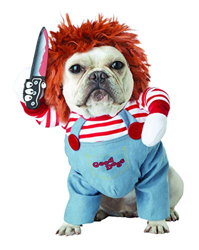 Chucky The Doll Costumes - California Costumes Collections PET20157 Apparel for