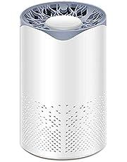 منظفات هواء USB ضوء الأشعة فوق البنفسجية، منقي هواء قطن الكربون النشط منظف الهواء المنزلي التلقائي سموك فورمالديهايد التعقيم