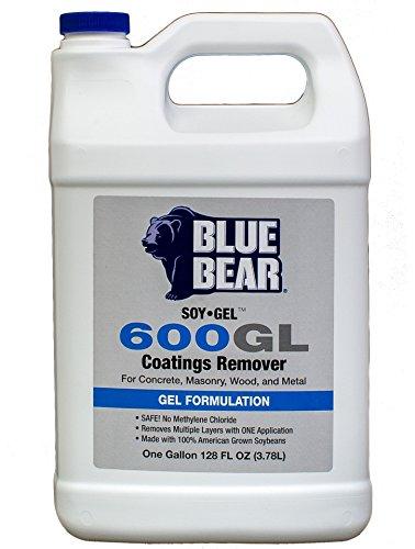 Soy Gel Stripper (BLUE BEAR 600GL Coatings Remover Gallon)