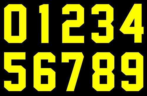 Baseball Jersey Numbers - Numbers Kit(0-9),8
