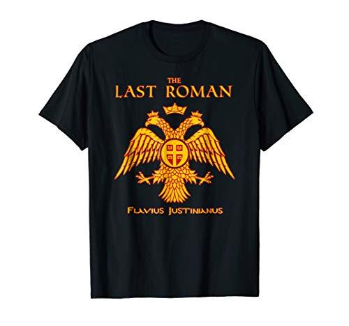 The Last Roman Empire Latin SPQR Byzantine Graphic T-Shirt