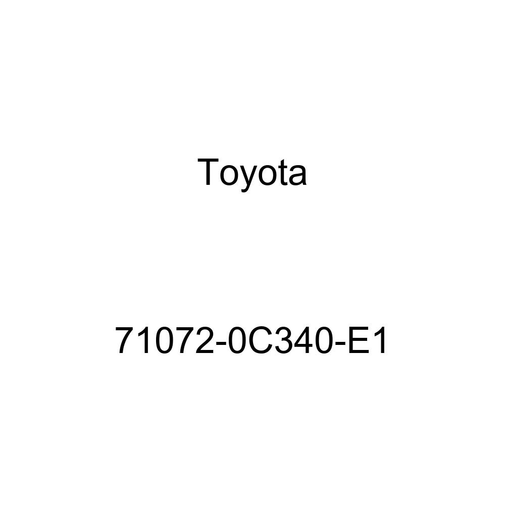 TOYOTA Genuine 71072-0C340-E1 Seat Cushion Cover