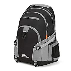 The versatile High Sierra Loop backpack is at home on and off the trail. The multi-compartment design keeps your gear organized. The side compression straps are adjustable to secure your items down and the adjustable bottom webbing straps are...