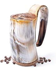 Norse Tradesman Horn Tankard