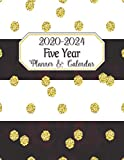 Five Year Planner & Calendar: Large Long-Term 60 Monthly Agenda Organizer Bold & Gold (2020-2024 Simple Monthly Planners)