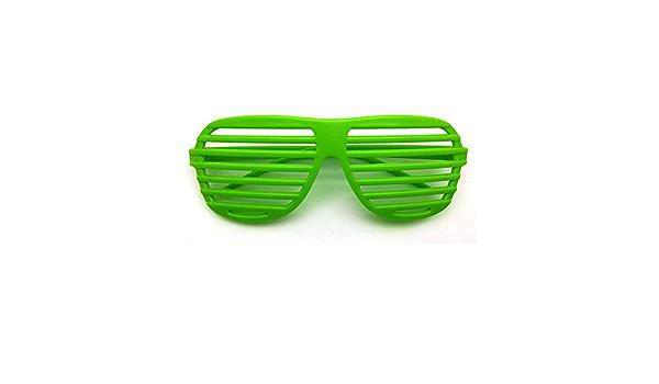 Eyewear Green Shamrocks Novelty Costume Party Sturdy Plastic Accessory Lines New