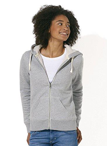 PureNature - Sudadera con capucha - para mujer gris