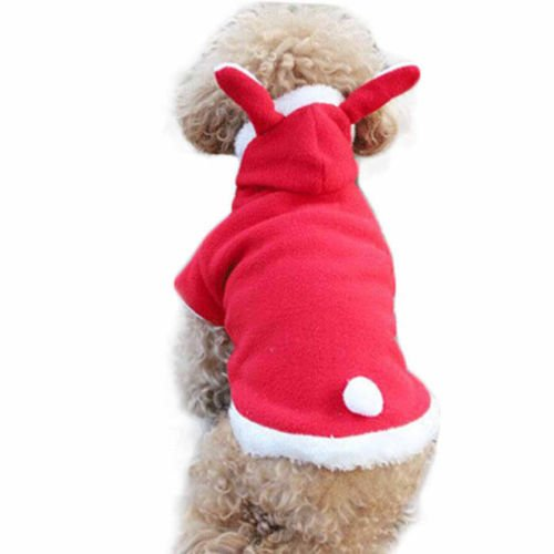 Father Dog Jumper Vest Sweater 11 Winter Red Knitted Pet Christmas Rabbit 4 Clothes Hoodie AU XS Dress L Sweatshirts Puppy E7wqr7