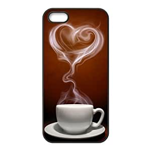 Coffee Fashion Design Cover Skin for Iphone 5 5S hjbrhga1544