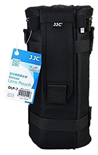 JJC Dlp-7 Deluxe Lens Pouch Bag Case 130Mm X 310Mm For Si...