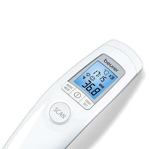 Beurer FT 90 Termometro clinico digital sin contacto con la piel, color blanco - 1 termometro digital: Amazon.es: Salud y cuidado personal