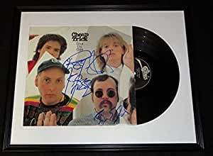 Cheap Trick Group Signed Framed 1982 One on One Record