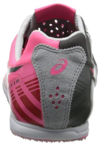 Asics Women's Spivey LD Track Shoe Neon Pink/Titanium/Quicksilver GSWVuDI