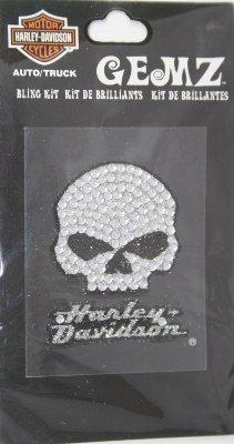 Harley-Davidson Willie G Bling Decal (Harley Davidson Bling Parts)