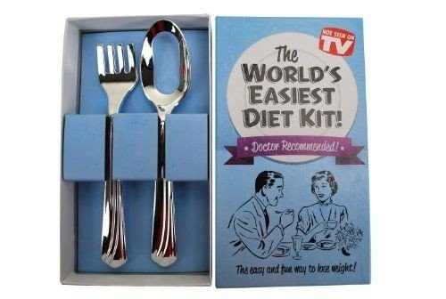 ChatAngle(TM) Big Mouth Toys Worlds Easiest Diet Gag Gift Kit