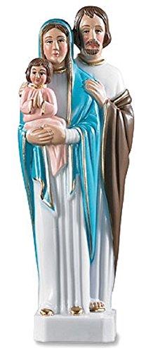 Religiosa Jesús, María, José, Sagrada Familia devotional Estatua–4/PK