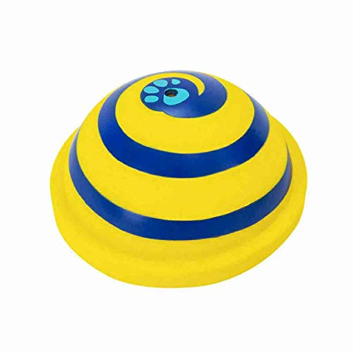 HankuSounding Disc Woof Glider Soft & Safe Indoor Play Toy Pet Dogs Toy Entertainment