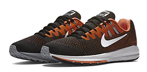 Nike 849576-002, Zapatillas de Trail Running para Hombre BLACK/WHITE-TTL ORNG-WLF GRY