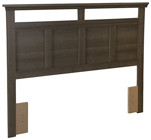 South Shore Versa Headboard, Full/Queen 54/60-Inch, Gray Maple ()