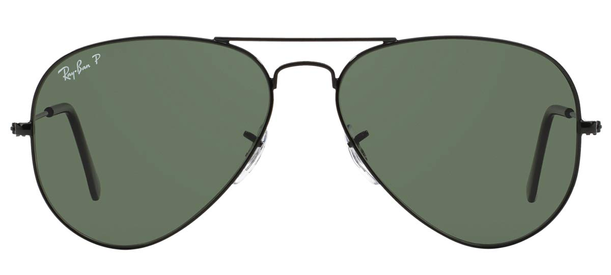 ab8332167b483 Óculos de Sol Ray Ban Aviator Polarizado RB3025L 002 58-62  Amazon.com.br   Amazon Moda