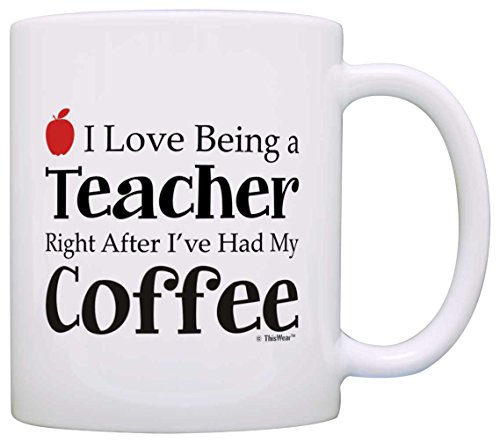 Teacher Appreciation Being Coffee Coworker product image