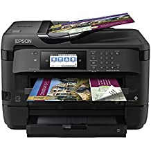 WorkForce WF-7720 Wireless Wide-format Color Inkjet Printer with Copy, Scan, Fax, Wi-Fi Direct and Ethernet