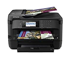 "Powered by Precision Core, the workforce WF-7720 wide-format all-in-one printer quickly produces print-shop-quality borderless prints up to 13"" X 19"" And scans up to 11"" X 17"". A versatile inkjet, it features 500-sheet capacity, dual trays, P..."