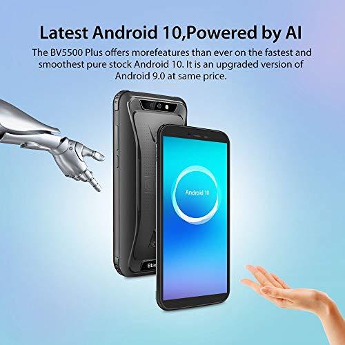 Téléphone Portable Incassable, Blackview BV5500Plus Smartphone Débloqué Antichoc Étanche Pas Cher 4G Android 10, 32Go… 2