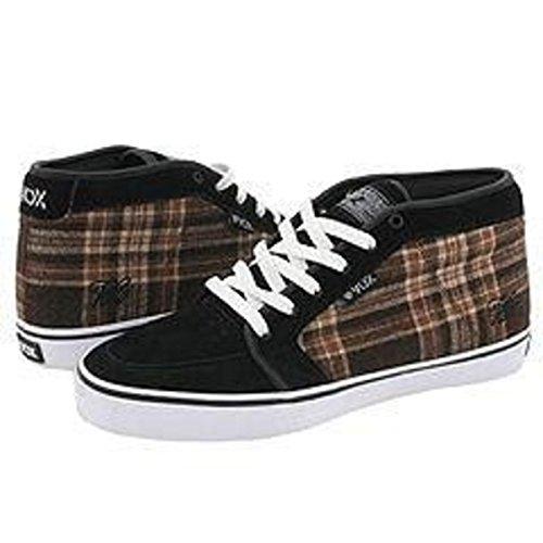 Vox Skateboard Shoes Vato Pro Black Suede / Black Coffee Fabric o4wBnAv