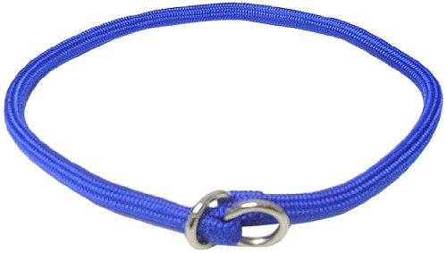 Hamilton 830 BL 5/16-Inch by 22-Inch Round Braided Choke Nylon Dog Collar, Blue, My Pet Supplies