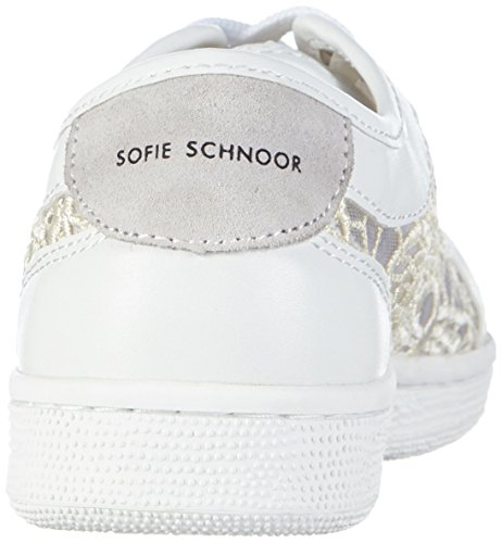 off Sneaker Sofie Sneakers Elfenbein Off top White white Schnoor Women's Lace Low 6vOSq6r
