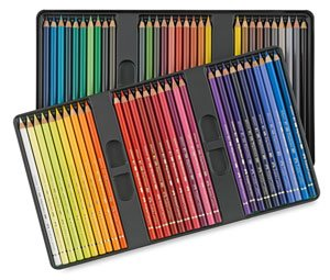 Faber-Castel 110060 Polychromos Colored Pencil Set In Metal Tin, 60 Pieces by Faber-Castell