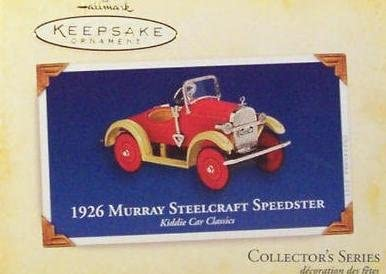 Hallmark Keepsake Spring Ornament 1956 Garton Hot Rod Racer 1st in Series 1999